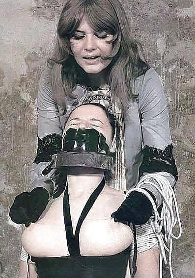 Bondage and gagged girl-7025