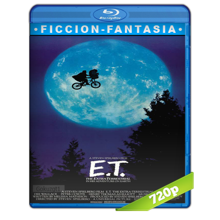 E.T. El Extraterrestre HD720p Audio Trial Latino-Castellano-Ingles 5.1 1982
