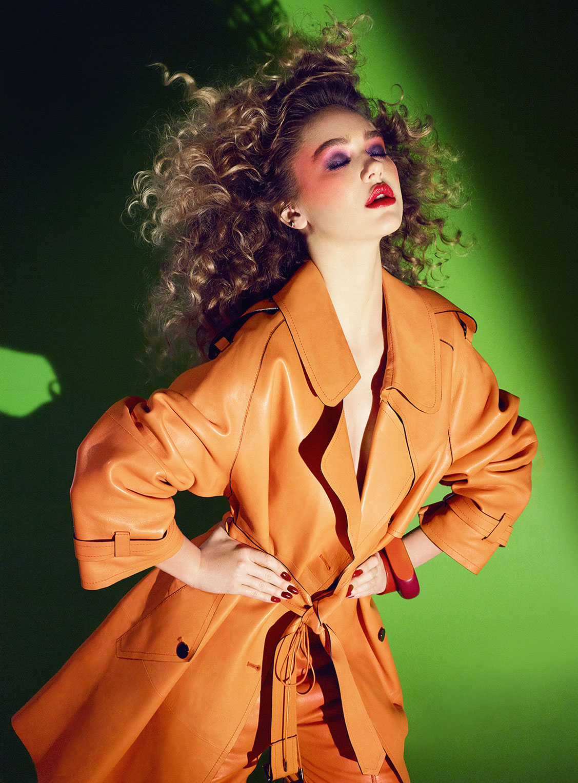 Делайла Белле и модные манекены, фотограф Энрике Вега / фото 06