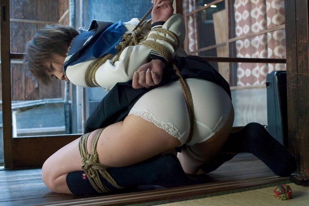 Asian bondage bukkake-8626