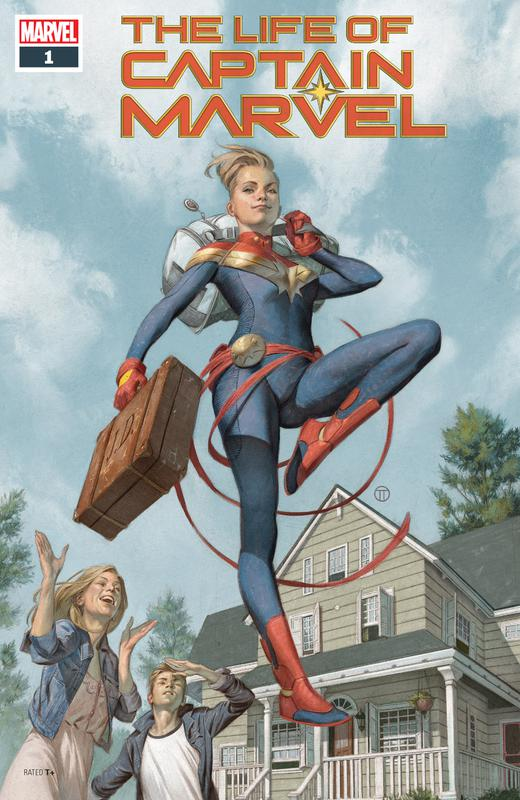 The Life of Captain Marvel Vol.2 #1-5 (2018) Complete
