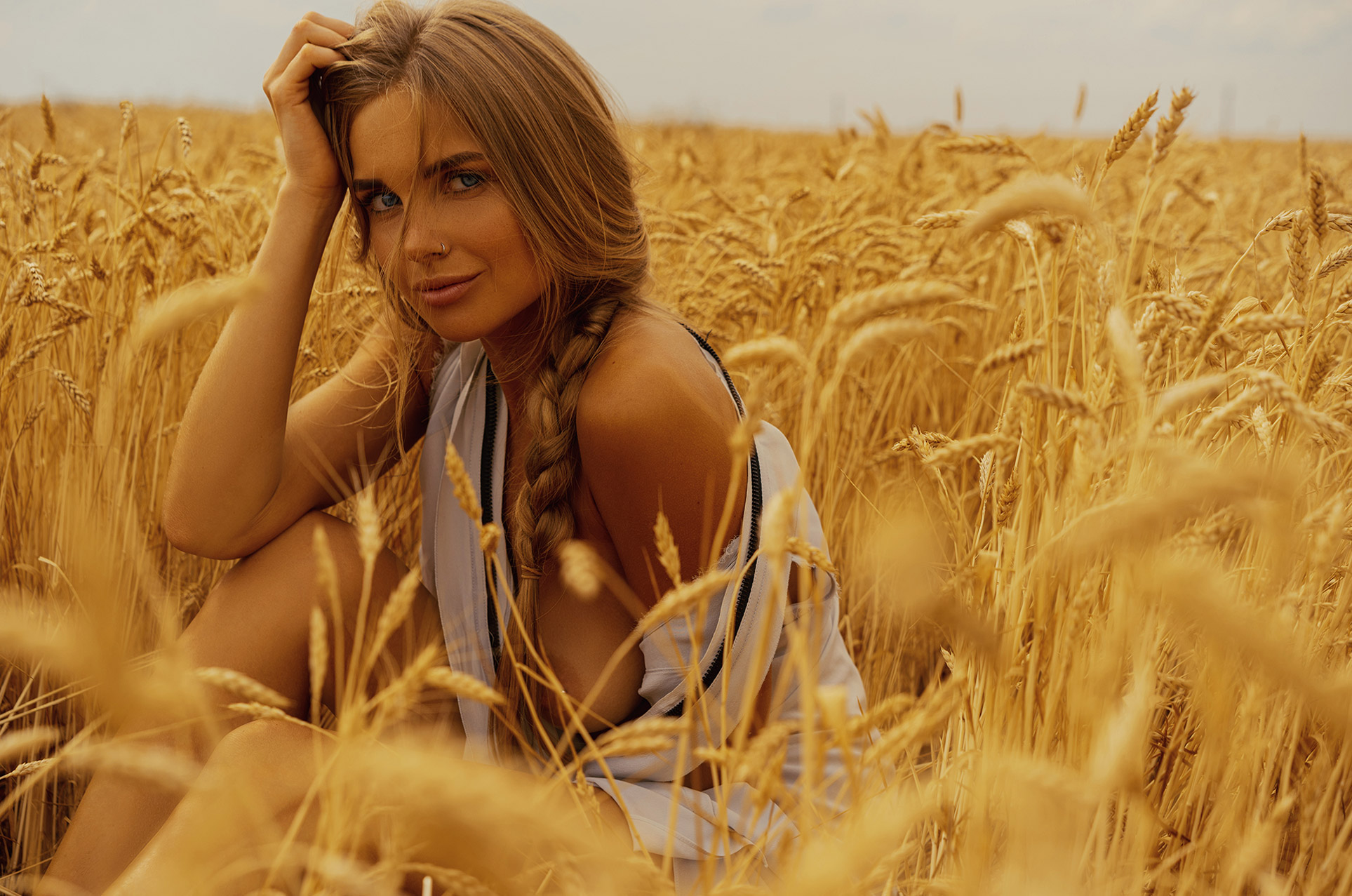 Украинская красавица на Поле чудес Матери-природы / Anna by Arthur Kaplun