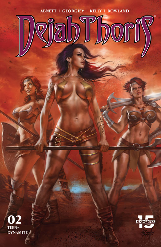 Dejah Thoris #1-8 (2019-2020)