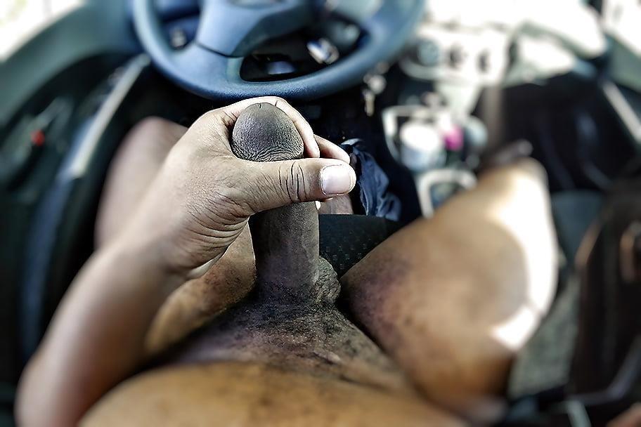Ebony public masturbation-5455