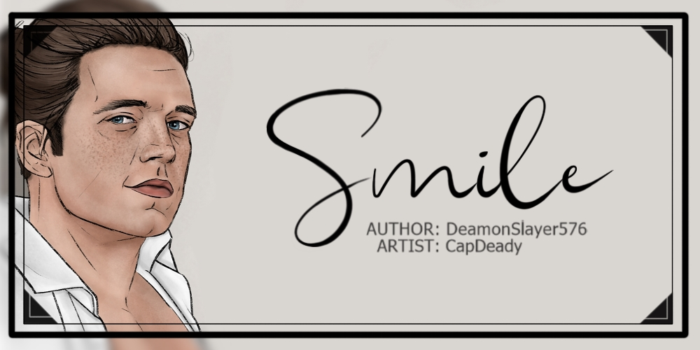 bucky smiling banner image