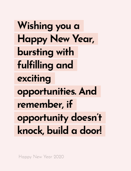 Happy New Year 2020 Wishes Quotes, Happy new year inspiration night 2020, wishes, messages & greetings 14