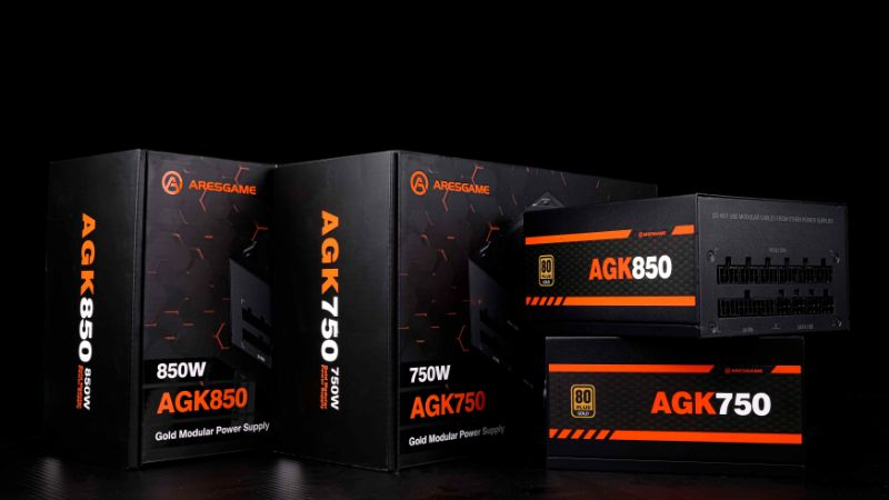 ARESGAME Releases Premium and Competitive Power Supplies Packed with Latest Features and Technologies for Ease of Use, Increased Performance and Durability