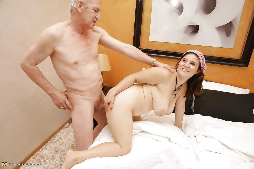 Porn girl and old man-7111