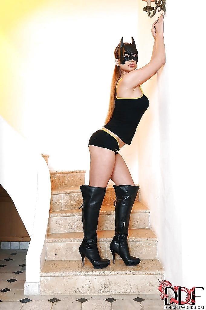 Sexy bat woman costume-3168