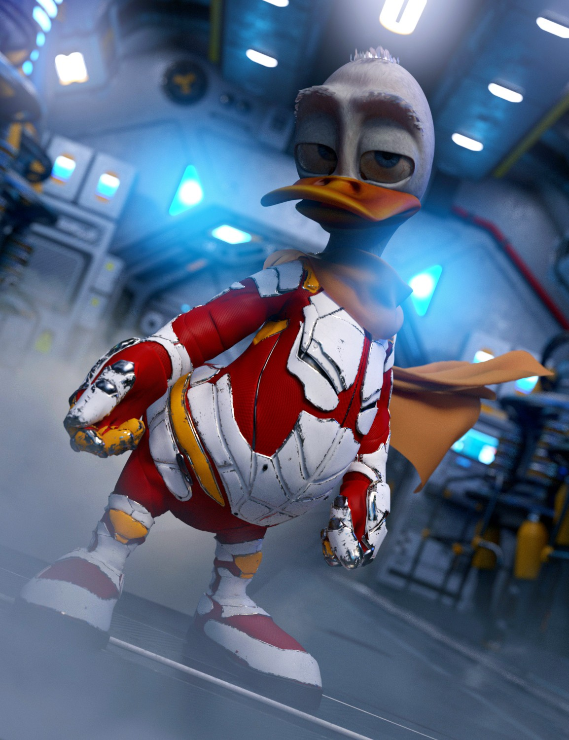 Classic Toon Duckie for Genesis 3 Male