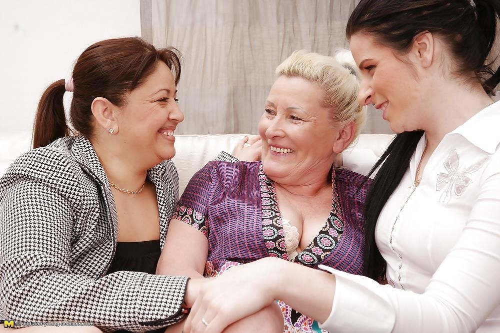 Lesbian grandma orgy-8807