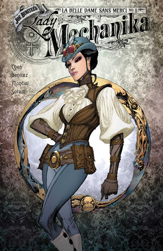 Lady Mechanika - La Belle Dame sans Merci #1-3 (2018) Complete