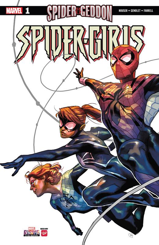 Spider-Girls #1-3 (2018-2019) Complete