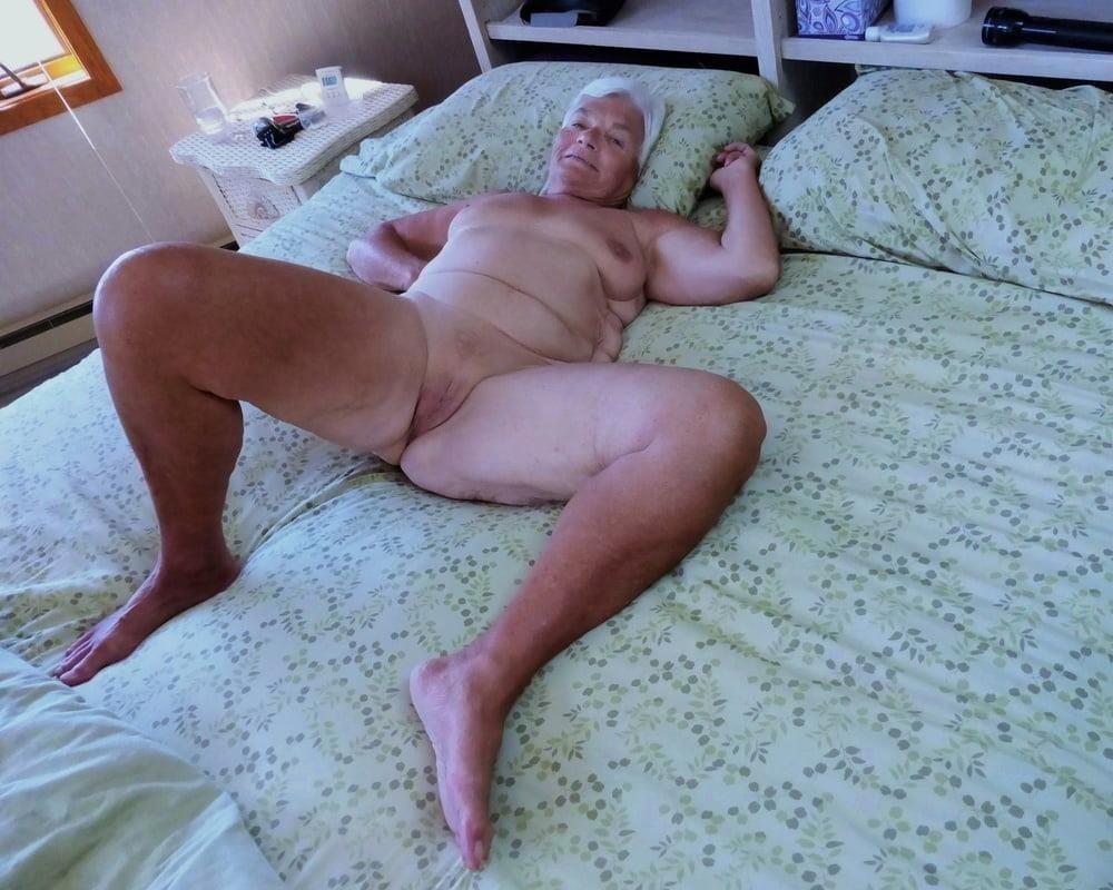 Chubby granny naked-5443