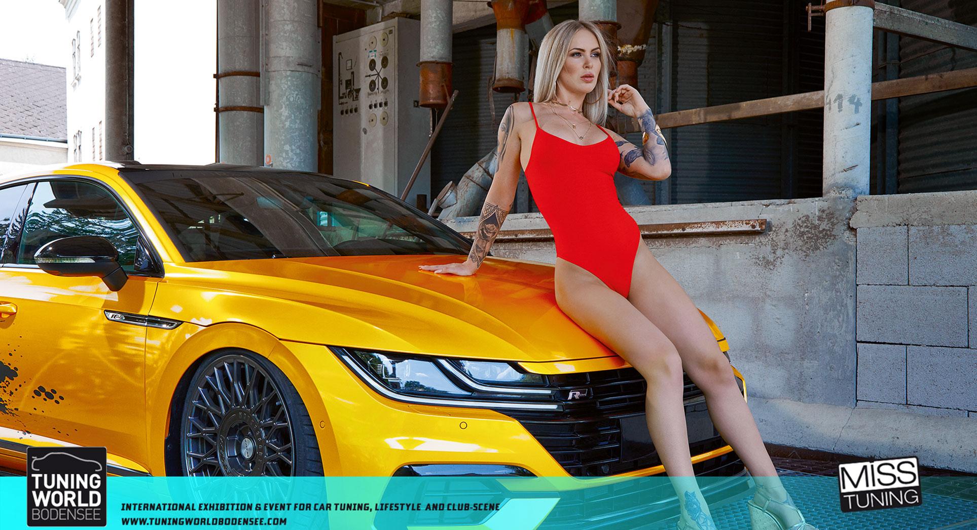 Ванесса Кнауф в календаре Miss Tuning на 2020-й год / октябрь
