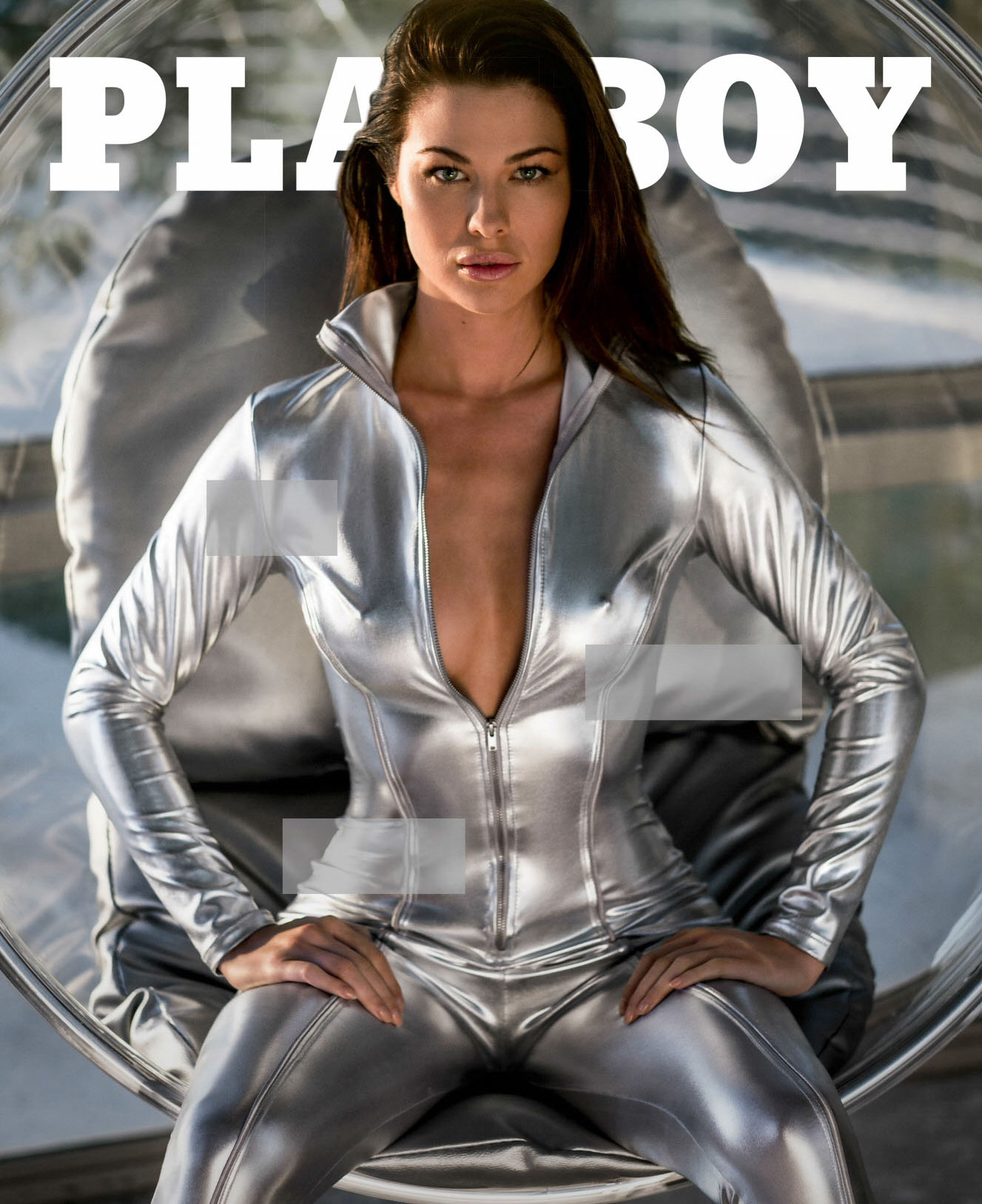 March 2018 Playmate / Jenny Watwood by Derek Kettela - Playboy march/april 2018
