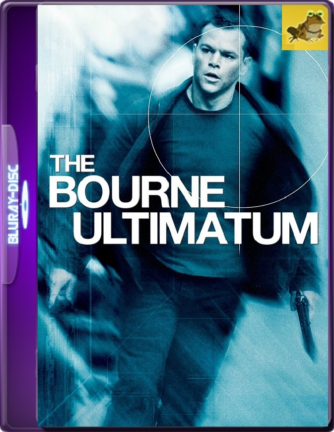 Bourne: El Ultimátum (2007) Brrip 1080p (60 FPS) Latino / Inglés
