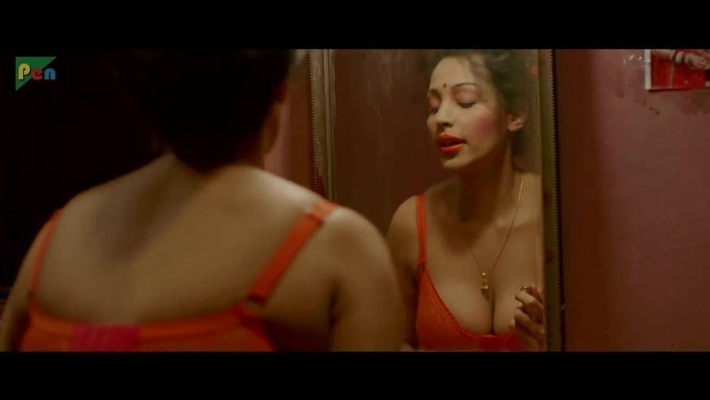 Asha saini hot kiss-6561