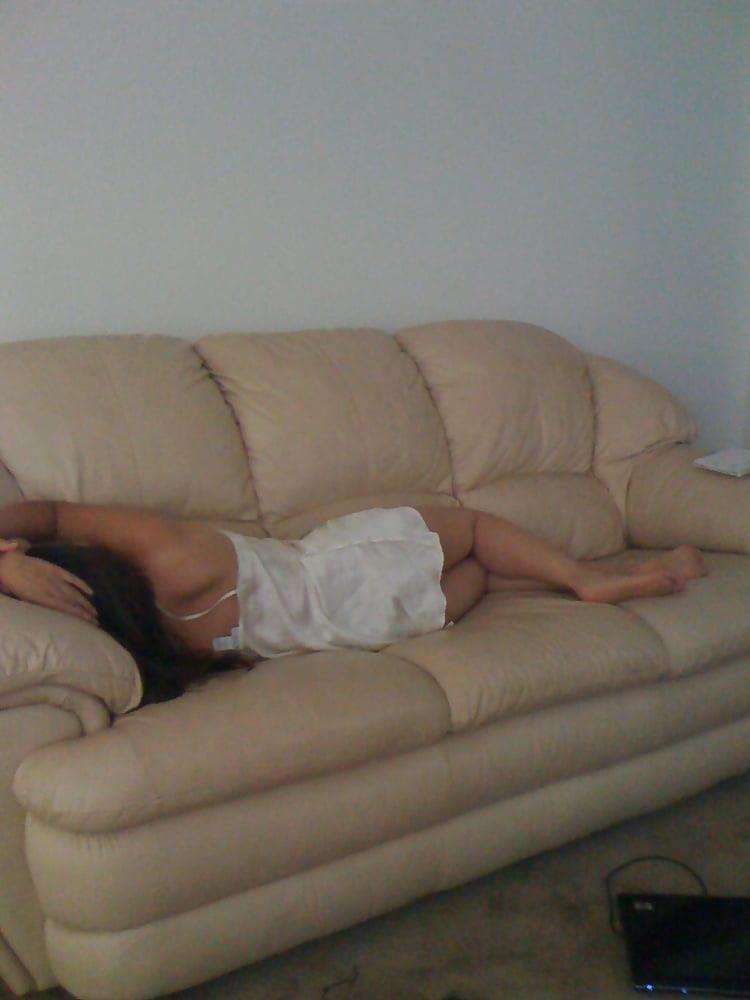 Wife asleep naked-6373