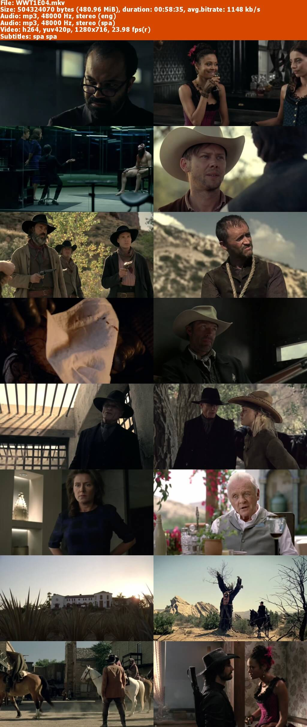 Capturas WestWorld Temporada 1 Mega