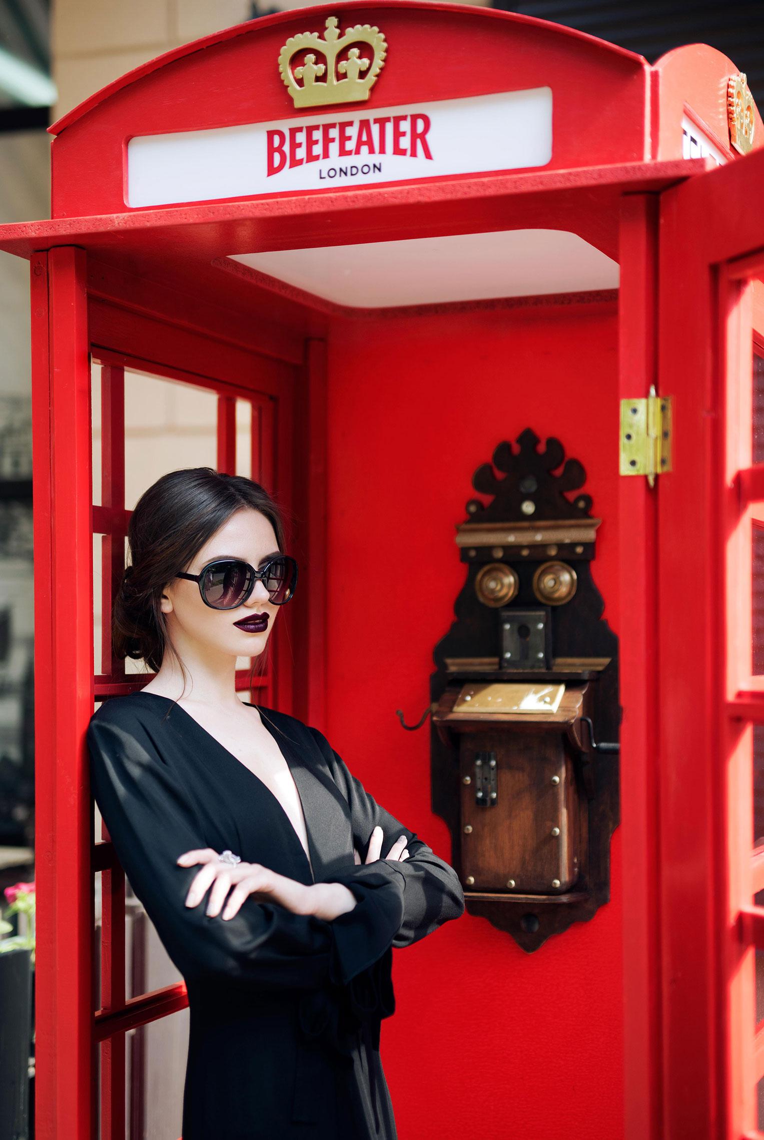 гуляем по Лондону с Инной Левицкой / Inna Levickaya by Alla Parhimovich