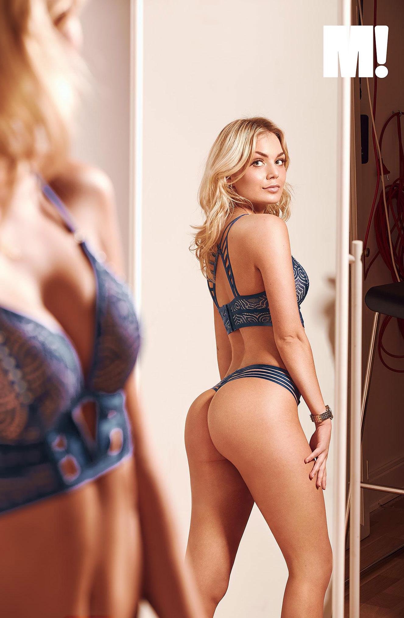 блондинка в винтажных интерьерах / фото 12