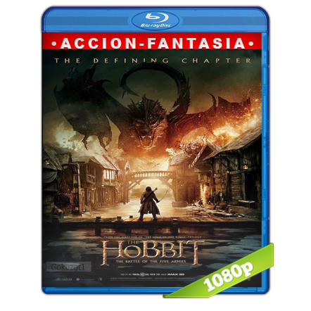 El Hobbit 3 1080p Lat-Cast-Ing 5.1 (2014)