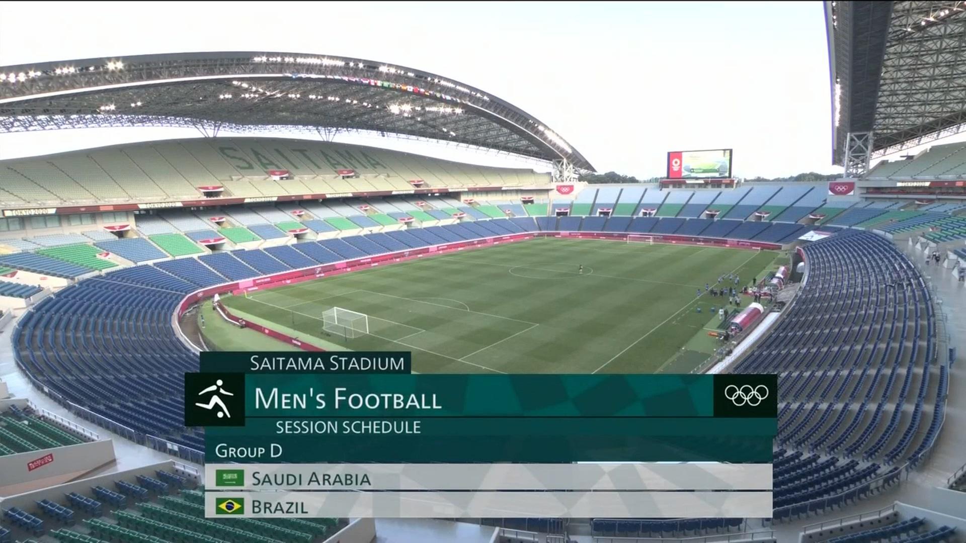 Full match: Saudi Arabia U23 vs Brazil  U23