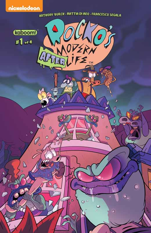 Rocko's Modern Afterlife #1-3 (2019)