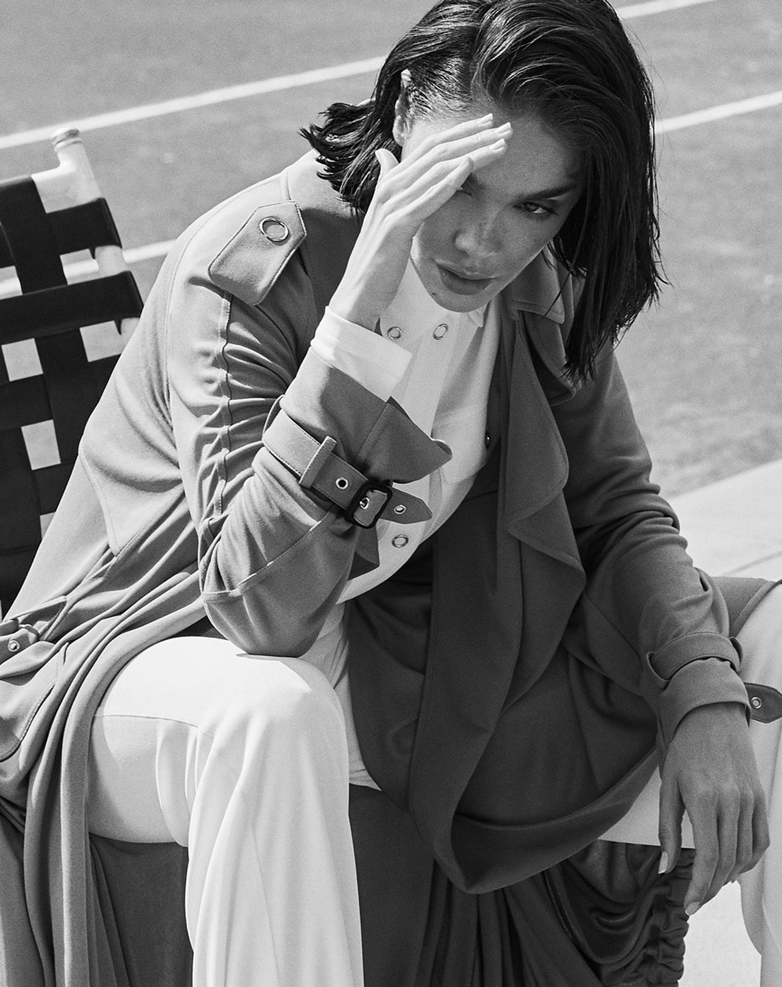 -Королева кортов- Мишель Дантас в модной одежде спортивного стиля / фото 11