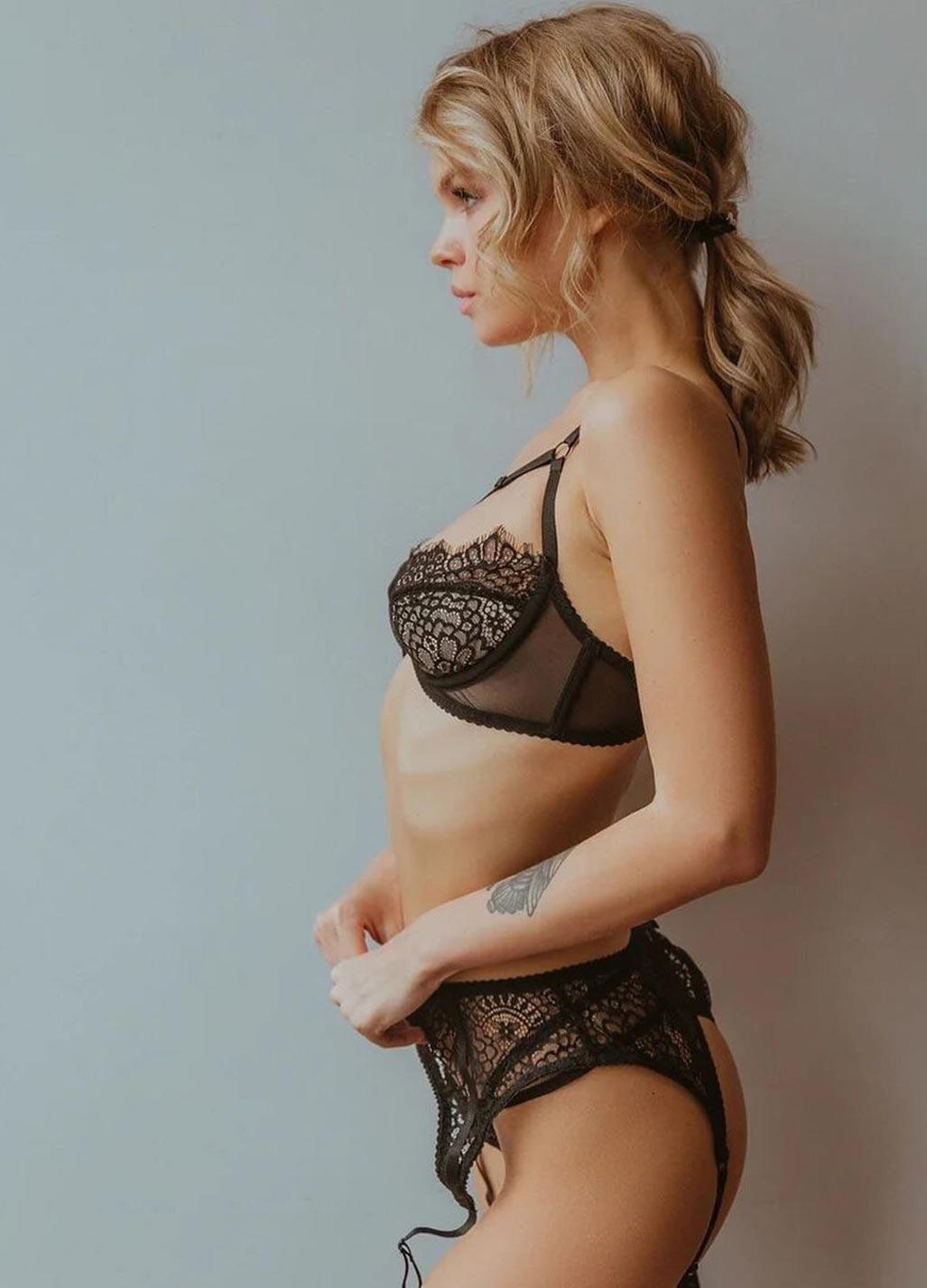Анастасия Щеглова в сексуальном нижнем белье God Save Queen / фото 24