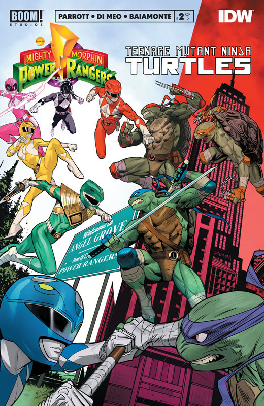 Mighty Morphin Power Rangers - Teenage Mutant Ninja Turtles #1-2 (2019-2020)
