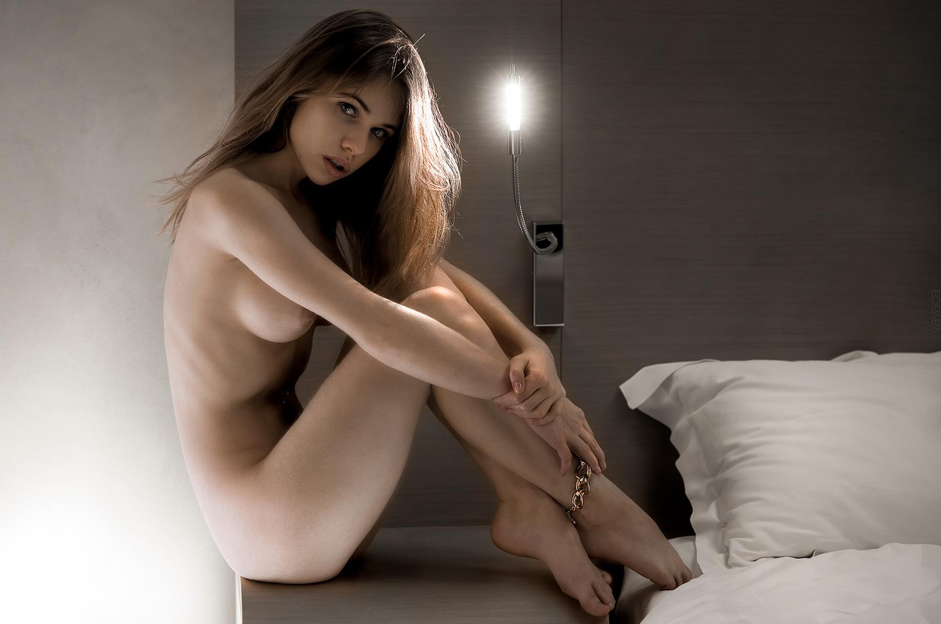 Александра Смелова / Alexandra Smelova nude by Vladimir Nikolaev / Lounge