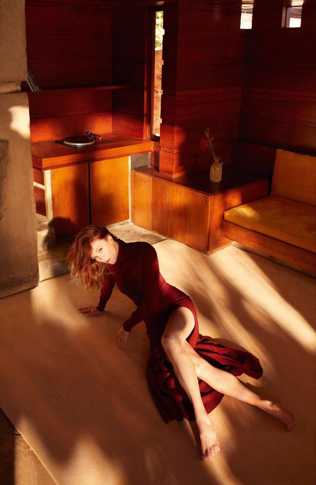 Julianne Moore by Camilla Akrans / Porter Magazine winter 2018
