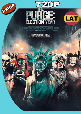 12 Horas Para Sobrevivir El Año De La Eleccion (2016) BRRip 720p Audio Trial Latino-Castellano-Ingles MKV
