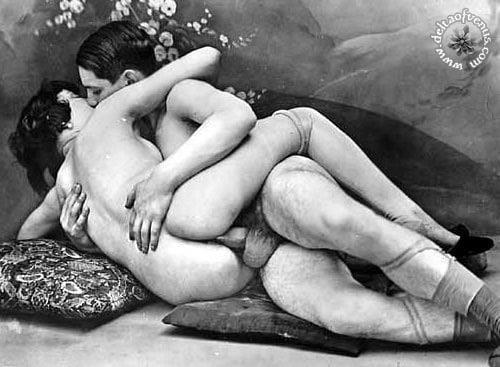 Vintage hairy nude-2534