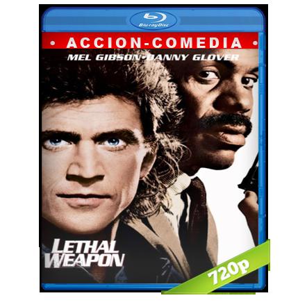 descargar Arma Mortal [m720p][Trial Lat/Cas/Ing][Accion](1987) gratis
