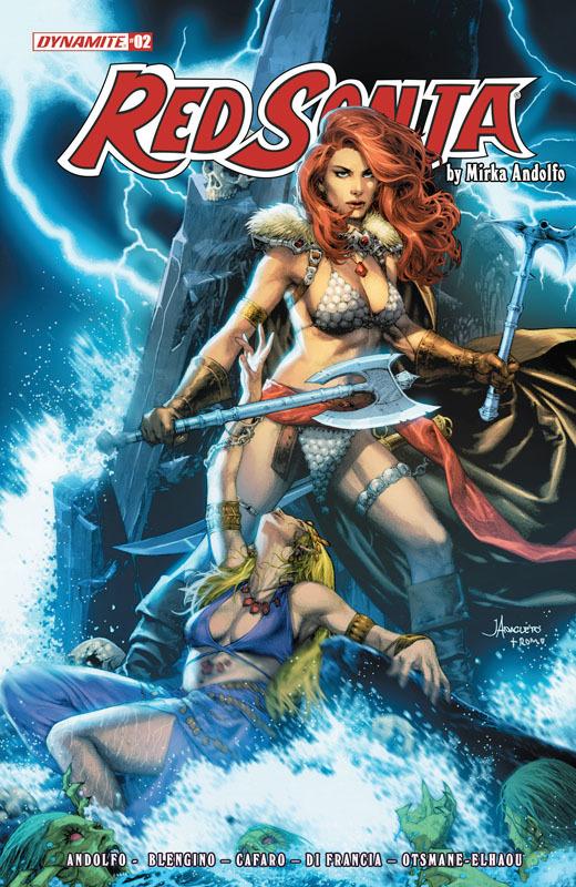 Red Sonja #1-2 (2021)