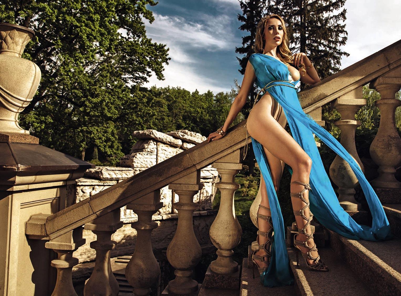 Девушка с обложки / Марина Королёва, фотограф Антон Софийченко / Playboy Украина май-июнь 2018