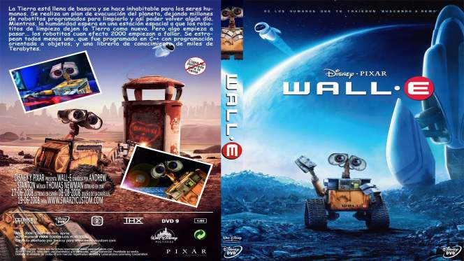 Wall·E (2008) BRRip Full 1080p Audio Trial Latino-Castellano-Ingles