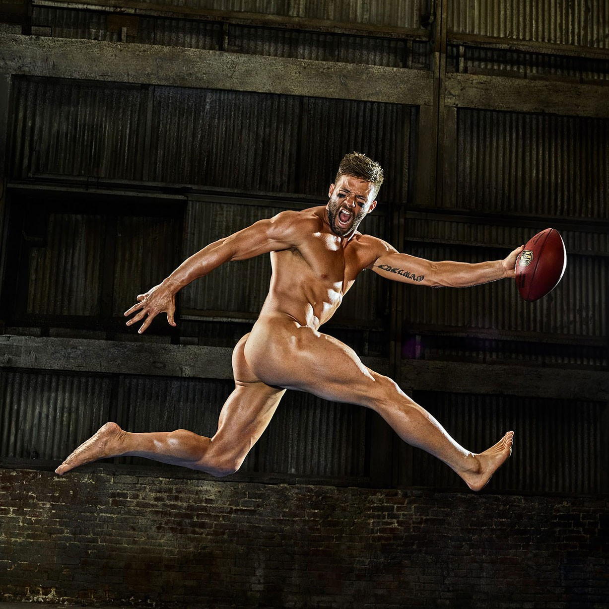 Julian Edelman - ESPN The Body Issue 2017 / photo by Peggy Sirota