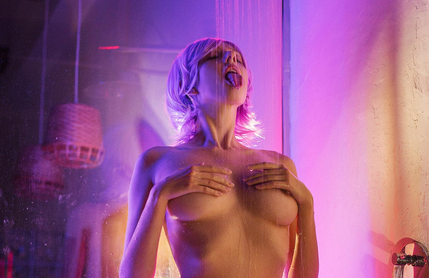 Пурпурный душ