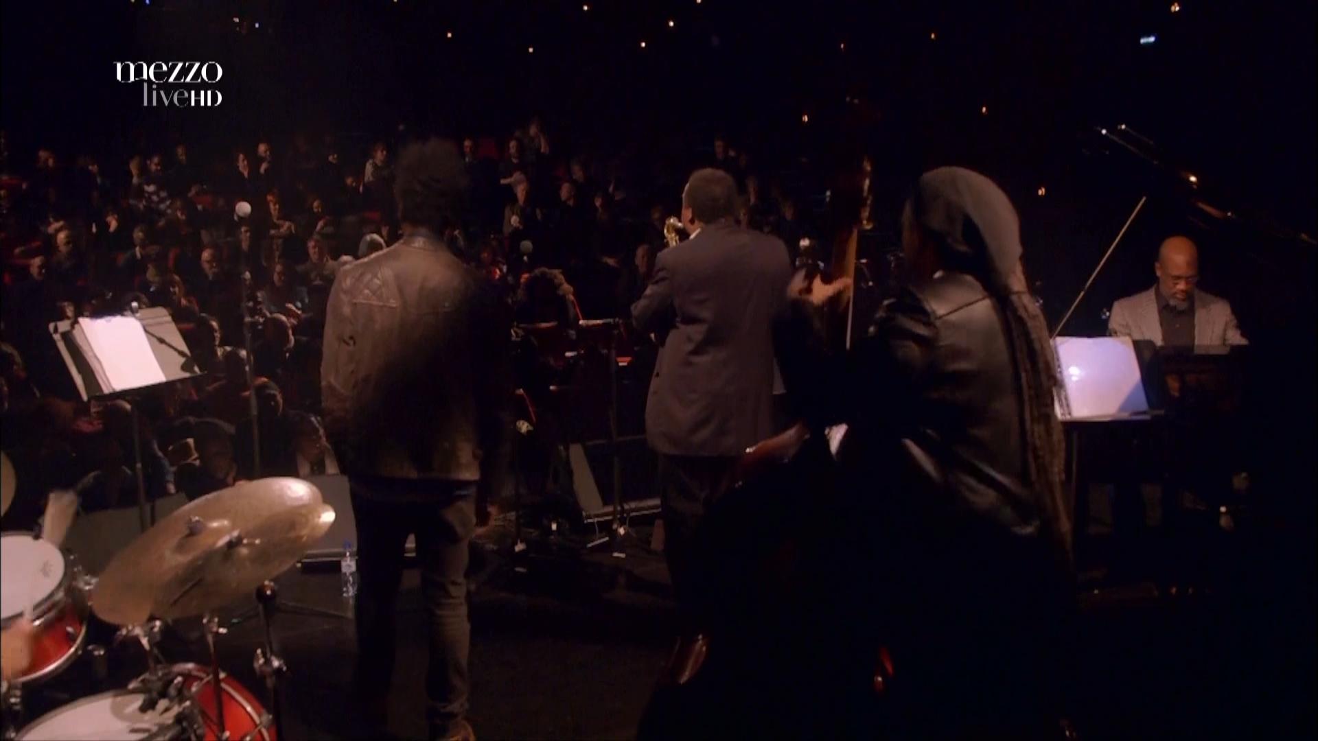 2015 David Murray Infinity Quartet feat. Saul Williams - Disruption at Banlieues Bleues Jazz Fest [HDTV 1080i] 13