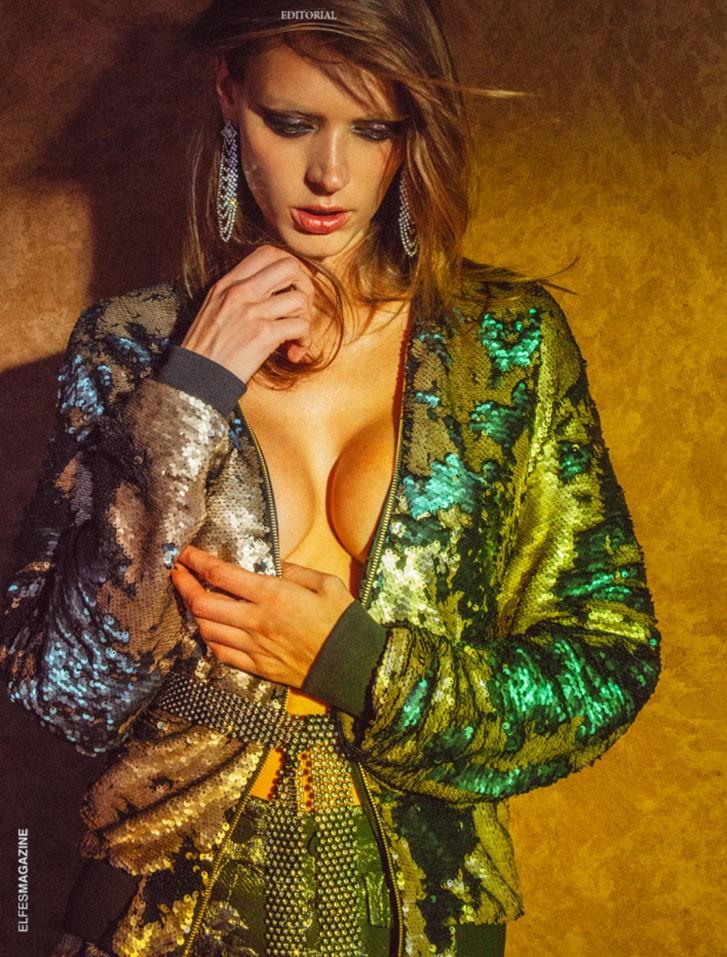 Dovile Virsilaite by Omar Coria - Elfes Magazine