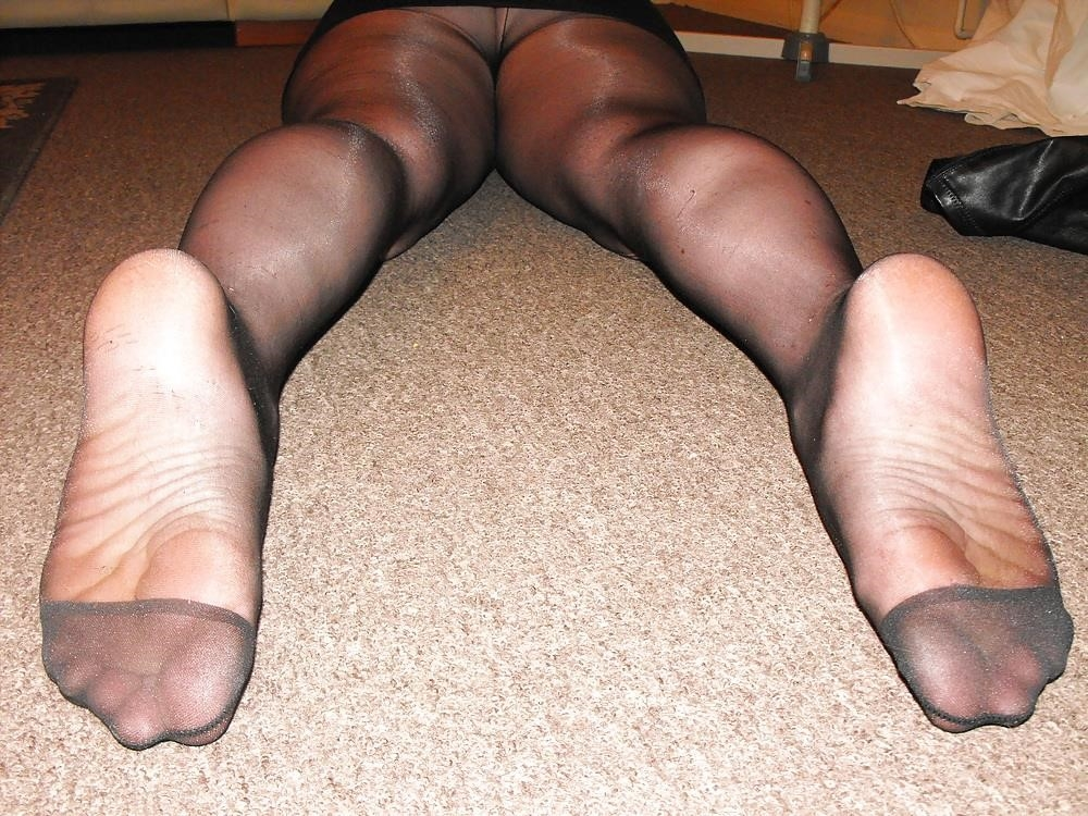 Black knee high combat boots-4619
