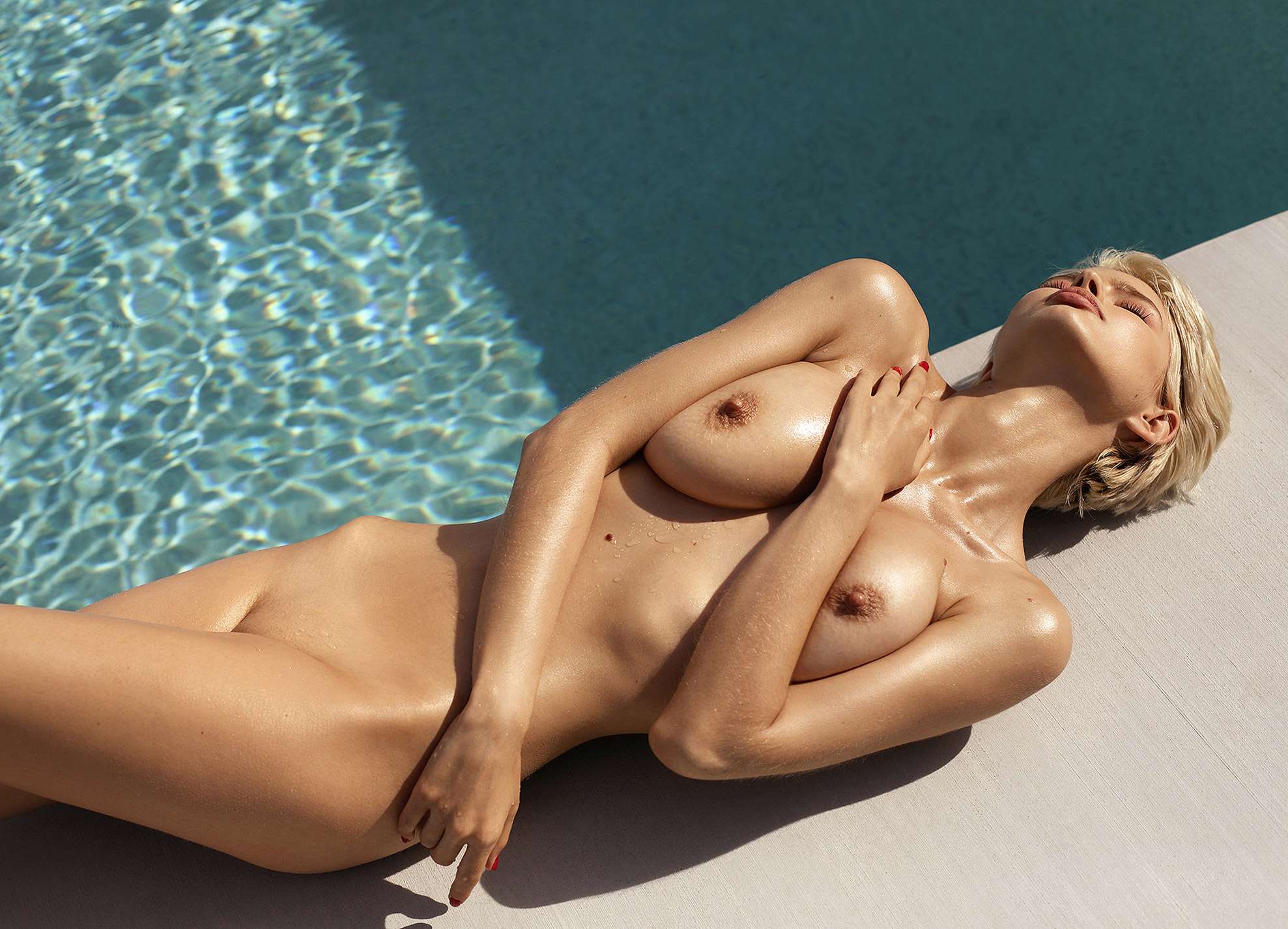 Julia Logacheva nude by Ana Dias / Playboy Netherlands may 2019