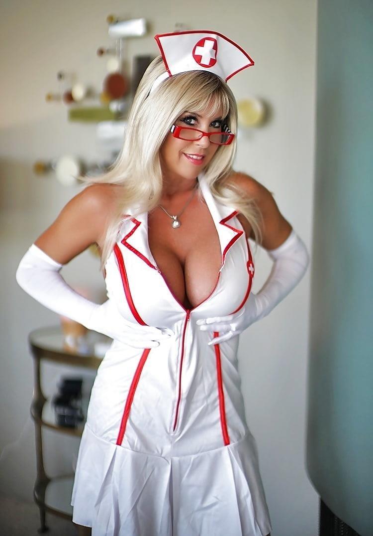 Sexy nurse big boobs-8022