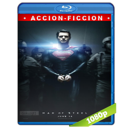 El Hombre De Acero Full HD1080p Audio Trial Latino-Castellano-Ingles 5.1 (2013)