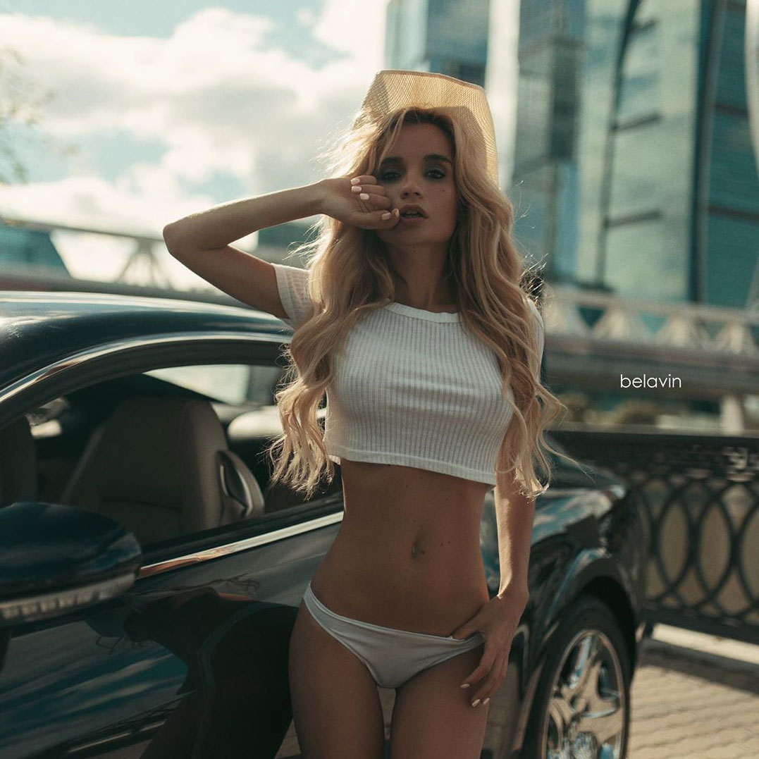 Бентли и Екатерина Зуева / Ekaterina Zueva by Alexander Belavin
