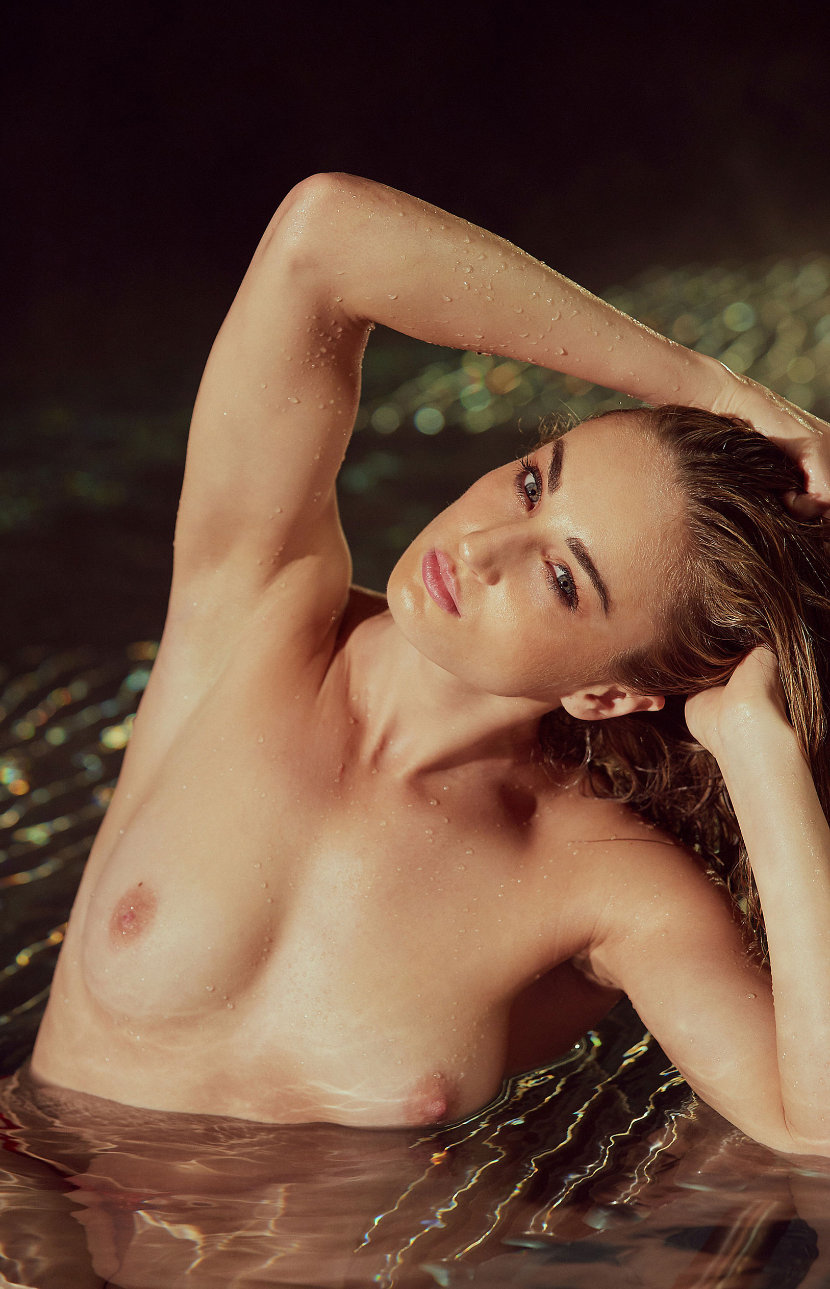 пловчиха Елена Кравцова в журнале Playboy Германия, октябрь 2020 / фото 21